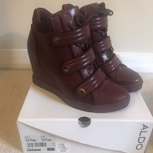 Aldo wedge sneakers!!